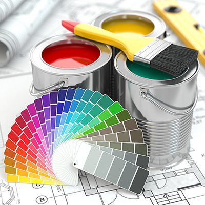 Exterior or interior professional painting services for residential or commercial properties.